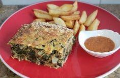 Receta de budín de acelgas Spanakopita, Quiche, Brunch, Keto, Breakfast, Ethnic Recipes, Food, Vegetarian, Salad