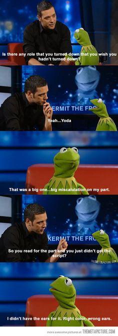 Kermit's miscalculation