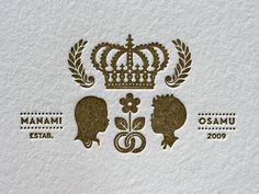 kyoto letterpress wedding invitations | beast pieces | Flickr - Photo Sharing!