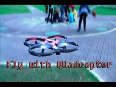 How to Fly with Quadcopter (Drone)