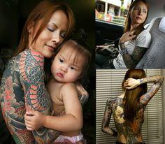 shoko tendo and her beautiful daughter
