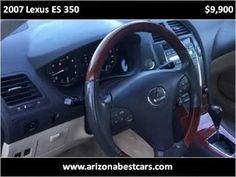 2007 Lexus ES 350 Used Cars Phoenix AZ