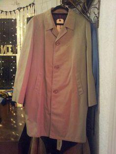 unisex vintage mac £35 Winter Months, Duster Coat, Mac, Menswear, Unisex, Coats, Denim, Jackets, Vintage