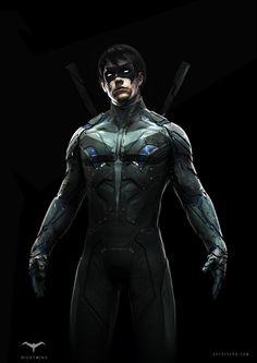 Designing NightWing To Fit Chris Nolan's Batman Movies