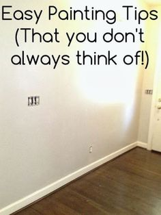 Great painting tips for a diy home!