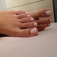 Pin on Sexy feet Pin on Sexy feet Beautiful Toes, Pretty Toes, Pretty Nails, Pretty Pedicures, French Nails, French Pedicure, Clean Toes, Foot Pedicure, Cute Toe Nails