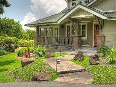 Luxury Craftsman Garden Bungalow, Japanese-Tropical Garden, Spa, Pond, Waterfall