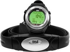 Digital Heart Rate Monitor System Chest Belt + Marathon Wrist Watch (Pedometer Calories Burned Heart Beat Measurement)