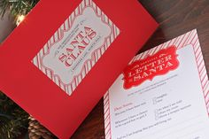 Letter to Santa Kit. Bought this set of (4) letters, envelopes and seals. It's darling!