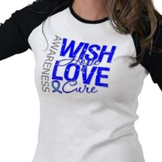 Wish Hope Love Cure Colon Cancer