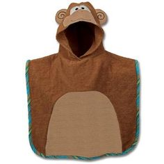 Stephen joseph boys hooded towel baby gear pinterest hooded clearance sale personalized monogrammed stephen joseph kid bath beach monkey hooded towel negle Images