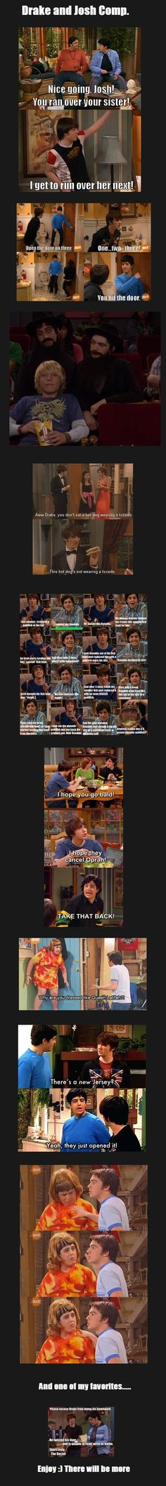 Drake and Josh... Those were the good days...
