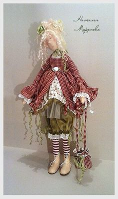 Куклы Натальи Мироновой - 27 Мая 2016 - Кукла Тильда. Всё о Тильде, выкройки, мастер-классы.