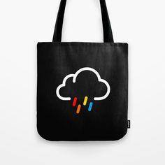 Lovely Rainy Day Tote Bag by rizkisyahril | Society6