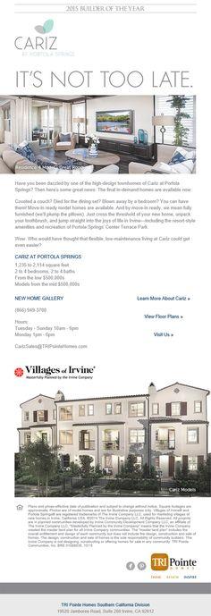 Model homes for sale in orange county california
