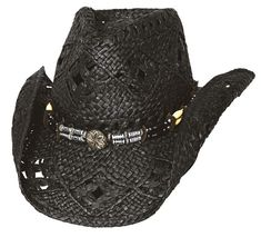e5a1605864dac All Summer Long Straw Cowgirl Hat