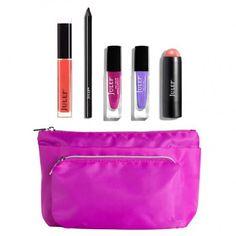A six-piece spring travel-ready gift of effortless beauty essentials. Like it?  Own it: www.teelieturner.com  #makeup
