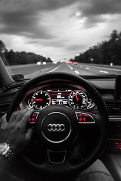 Audi- one day this will be my driving view
