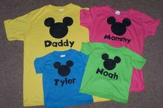 Family Disney World Shirts