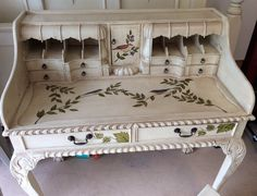 Vintage Chippendale Secretary Desk on Etsy, $799.00