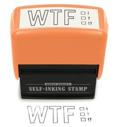 A must for any desk, in any office. //i'd end up stamping the receptionist on the forehead LOL