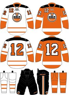 Our Custom Hockey Jersey Designs · Look familiar  Osseo HS lookin  like the  pros.  EdmontonOilers  CustomDesigns   5f7764e7f70