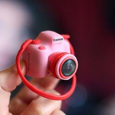 Clay Camera #mini #clay #clayart #camera #insta #canon #mini
