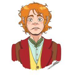 Bilbo. Ou Martin Freeman en Bilbo.