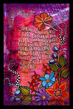 Art Journaling  BARB offers a pay what you can online journaling class.  Go check it out!  I'm psyched to participate.