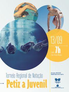 Torneio regional de natação - Petiz