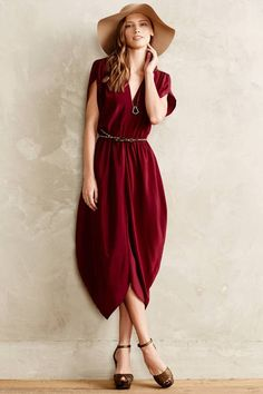 Myne Silk Kimono Dress #anthrofave