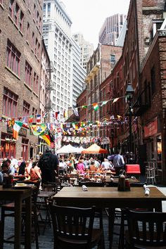 Soho, Lower Manhattan et Chinatown. New-York. La râpe à fromage