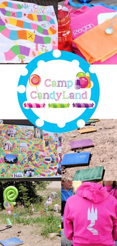 Candy Land Themed Girl's Camp Ideas