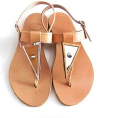 100% Leather sandals. These monastery type sandals are made from 100 % leather and have worn them a few times. Very good condition. Shoes Sandals