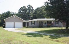 Country Place Needs A Family! Sit on your new front porch and feel good about breathing in fresh country air. Quiet and private is what you will find at