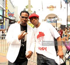 Marlon and Shawn Wayans during 106 and Park featuring Lil John, Shawn and Marlon Wayans, Anthony Hamilton at Live from LA in Los Angeles, California, United States.