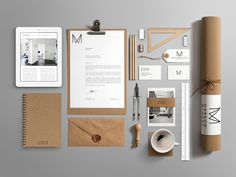 Narrowminded - Architect by Florent Hancquart, via Behance #branding #identity