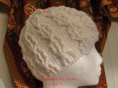My Crochet , Mis Tejidos: Atomic Hat and the Crochet Pattern / Gorro Atomico y su Patron