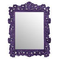 Napoleon Wall Mirror in Royal Purple