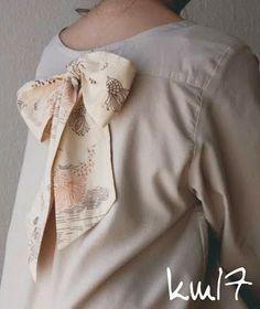 km17 - 100% handmade: With a man's shirt ...
