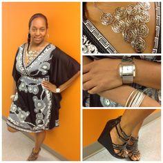 What I Wore #summeredition    http://browngirlnextdoor.com/2012/10/26/what-i-wore-black-and-white/