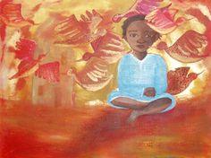 Life, painting acrylics on canvas ©barbaravandruten.nl