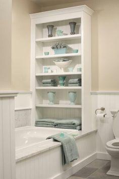 Salle de bain, si vous avez suffisamment d'espace pour le faire...
