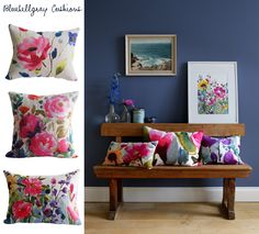 Pretty Floral Cushions for Spring...