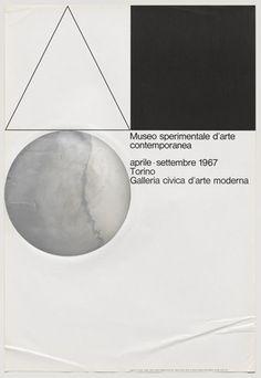 """Museo Sperimentale d'Arte Contemporanea A. G. Fronzoni (Italian, 1923-2002) 1967. Lithograph, 23 1/2 x 34 1/2"""" (59.7 x 87.7 cm). Gift of Clarissa Alcock Bronfman 982.2010"""
