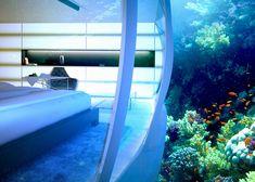 Water Discus Onderwater Hotel Concept in Dubai