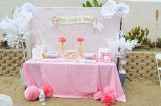 Nicole's Princess Baby Shower | CatchMyParty.com