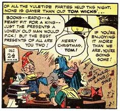 "Either Gotham City's standards for party are ridiculously low, or they're not using the term in the ""gay old time"" sense."