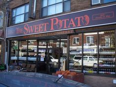 The Sweet Potato organic grocery store on Dundas West. Has the best, sweetest, tastiest organic strawberries come June!  (thesweetpotato.ca)