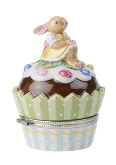 VILLEROY & BOCH Spring Decor Bunny Cupcake Treatbox